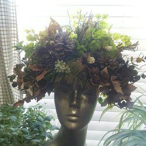 Festival Rave costume headdress gaia